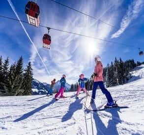 familien skiurlaub wagrain