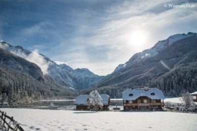 Jägersee im Winter