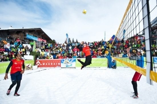 Snow Volleyball in Wagrain