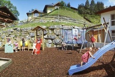 Inklusivleistungen im Wagrainerhof, Wagrain, Salzburger Land - Kinderspielplatz