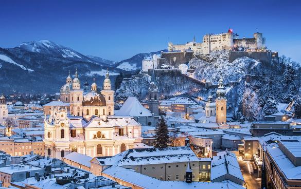 Urlaub in der Gruppe, Stadt Salzburg, Ausflugsziel vom 4 Sterne Hotel Wagrainerhof aus