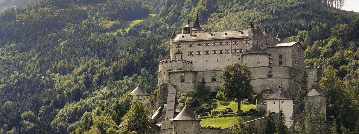 Ausflugsziele im Salzburger Land - Festung Hohenwerfen