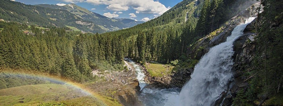 Ausflugsziele - Krimmler Wasserfälle
