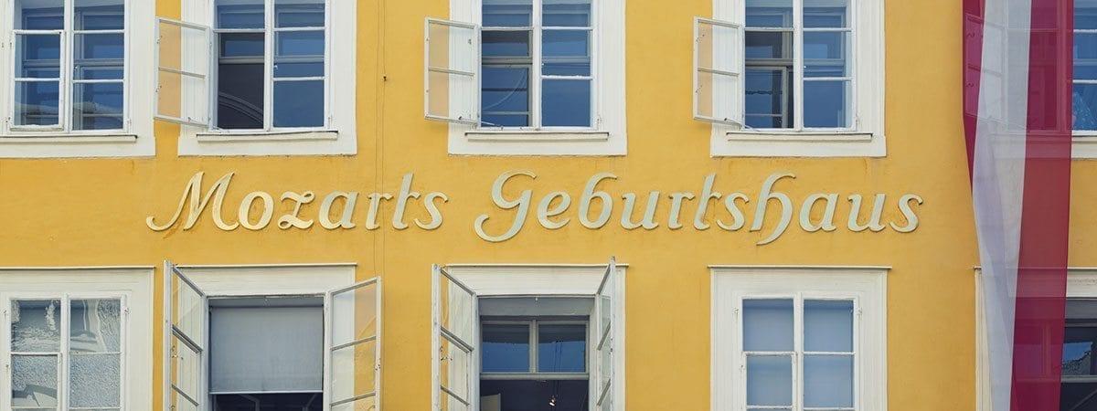 Ausflugsziele - Stadt Salzburg - Mozarts Geburtshaus