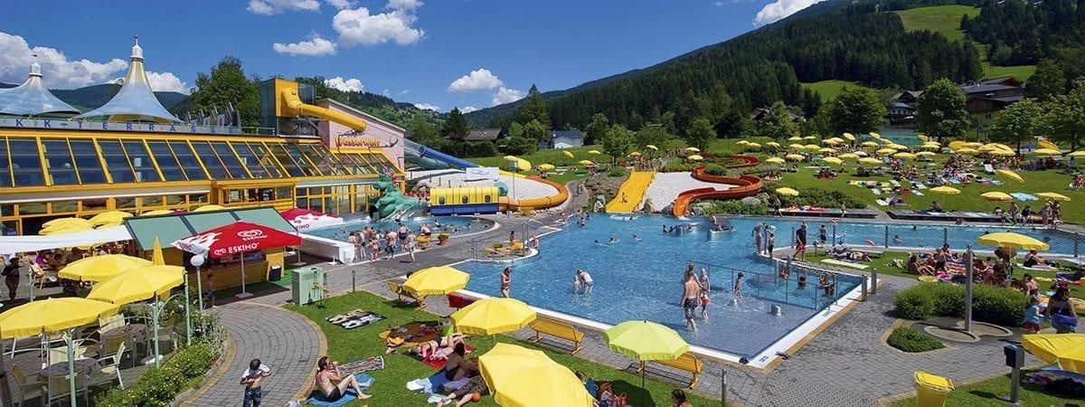 Ausflugsziele Salzburger Land - Wasserwelt Wagrain