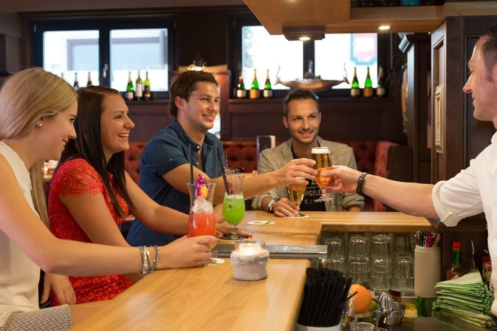 Bar im Hotel Wagrainerhof in Wagrain