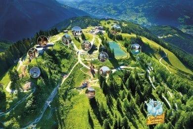 Familienurlaub Sommer im Wagrainerhof, Wagrain, Salzburger Land - Geisterberg St. Johann - Alpendorf