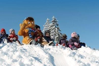 Familienurlaub im Winter im Wagrainerhof, Wagrain Salzburger Land - Wagraini's Winterwelt