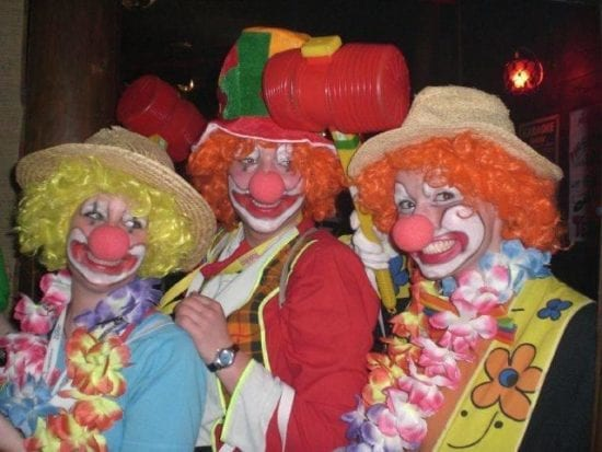 Clowns im Fasching