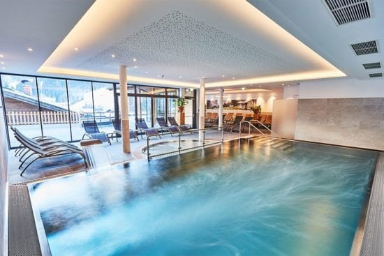 Hallenbad im Wagrainerhof - 4 Sterne Hotel in Wagrain