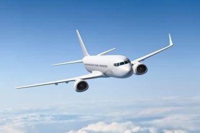 Anreise zum Hotel Wagrainerhof, Flugzeug