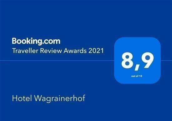 Hotel Wagrainerhof - Auszeichnungen - booking.com