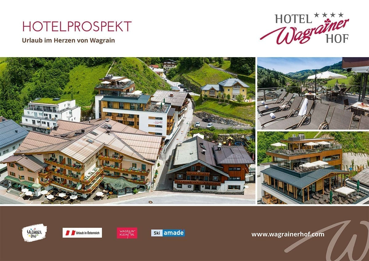 Hotel Wagrainerhof - Imagebroschüre 2017/18