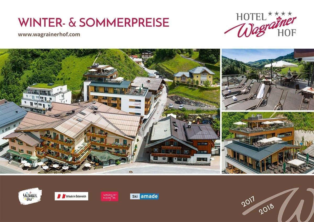 Hotel Wagrainerhof - Preisbroschüre 2017/18