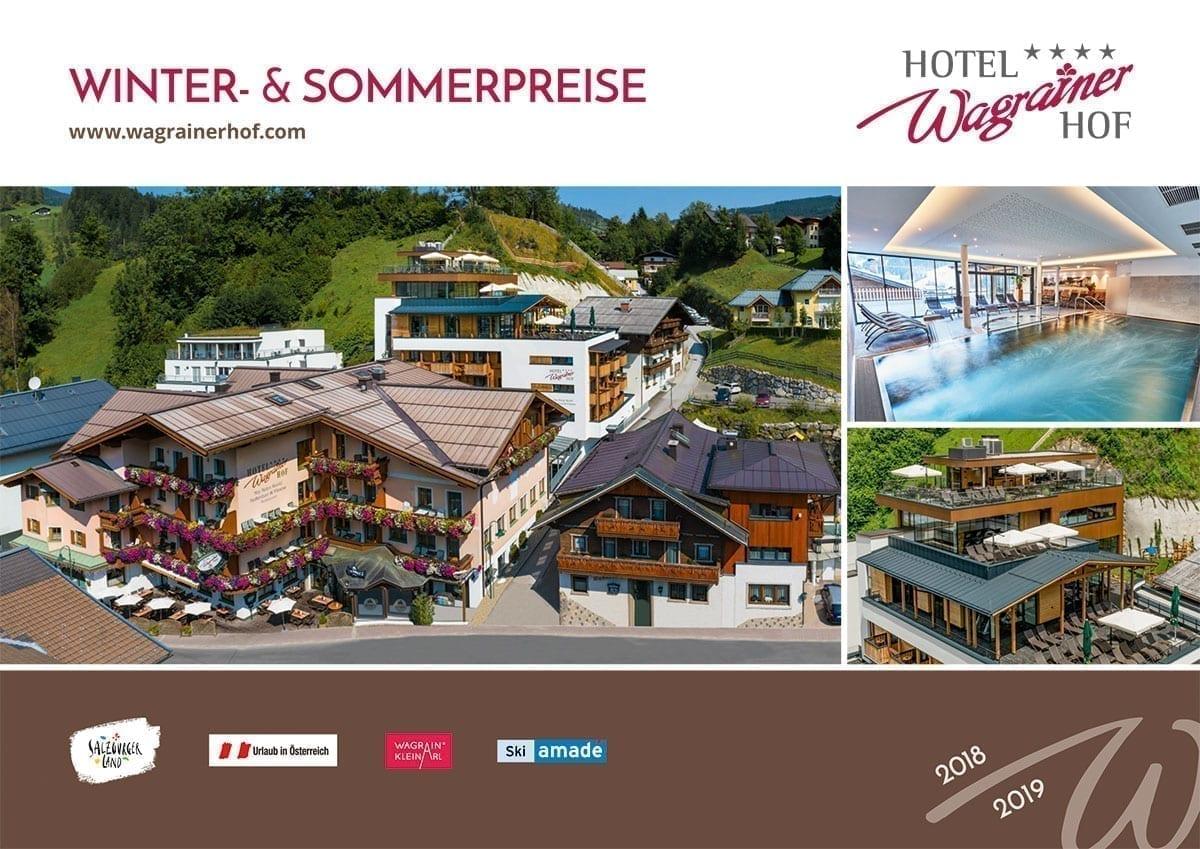 Hotel Wagrainerhof - Preisbroschüre 2018/19