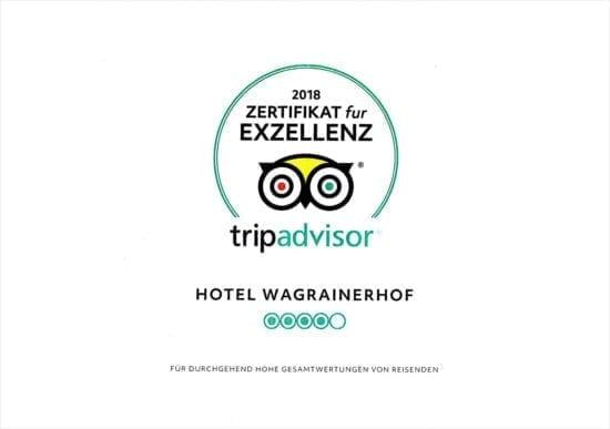 Hotel Wagrainerhof - Auszeichnungen - Tripadvisor