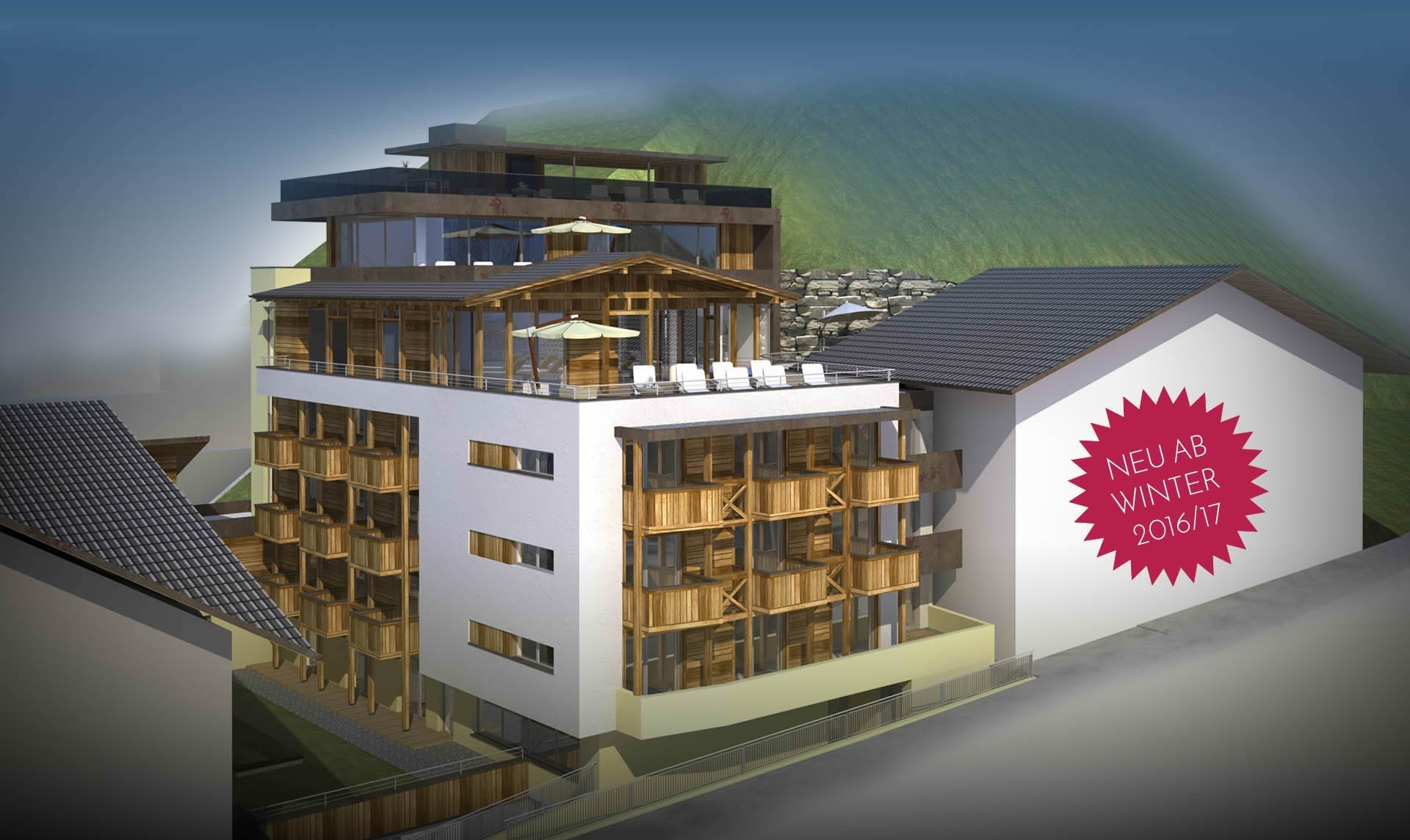 Hotel Wagrainerhof Umbau - Salzburger Land