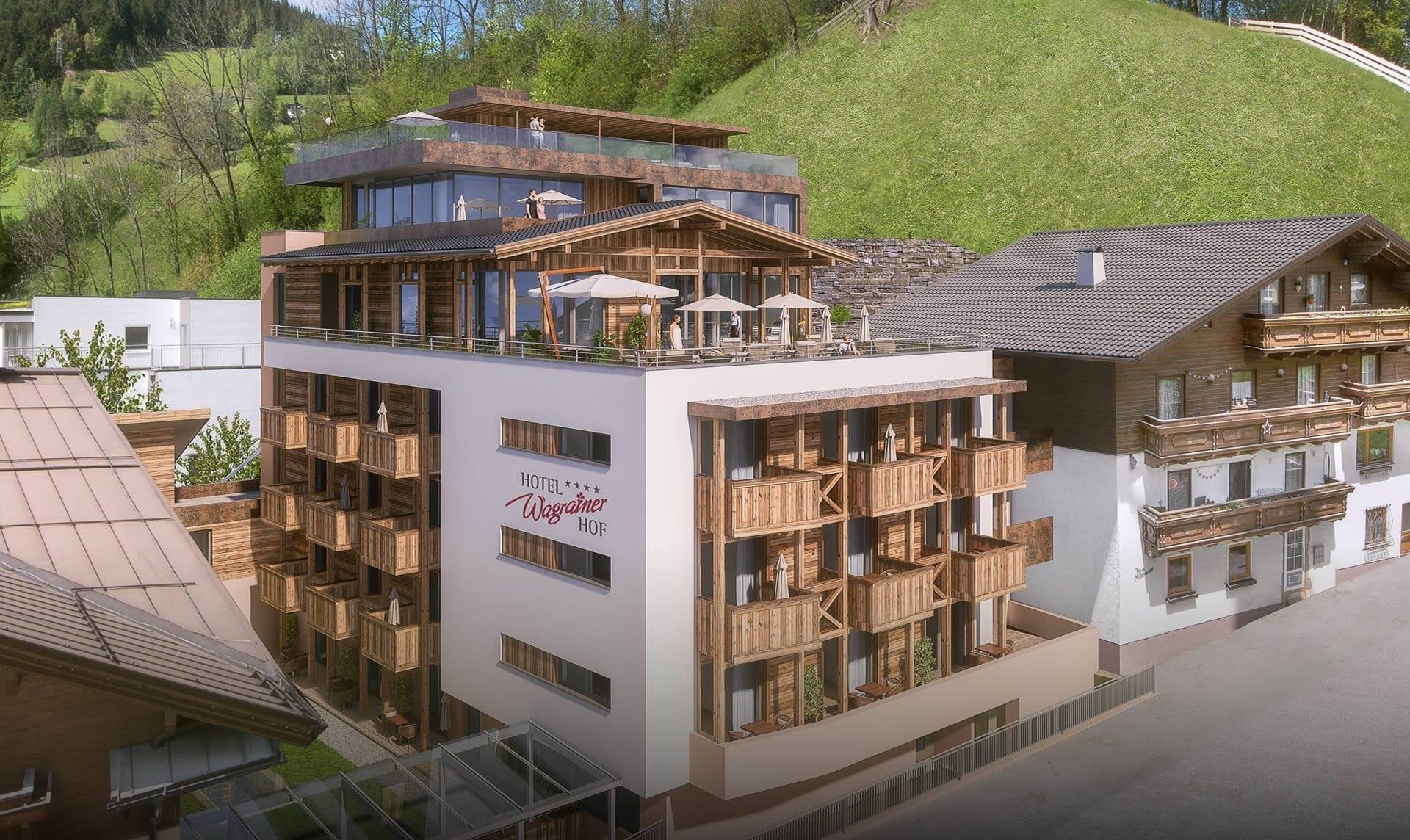 Hotelumbau - 4 Sterne Hotel Wagrainerhof, Wagrain