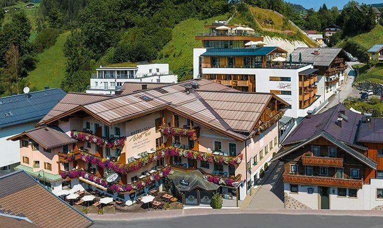 Wagrainerhof 4 ihr familienhotel wanderhotel in for Design hotel salzburger land