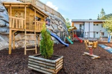 Kinderspielplatz - Hotel Wagrainerhof, Familienurlaub in Wagrain