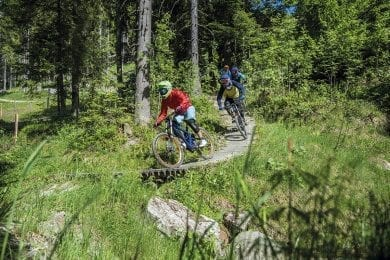 Mountainbike-Park Wagrain, Salzburger Land