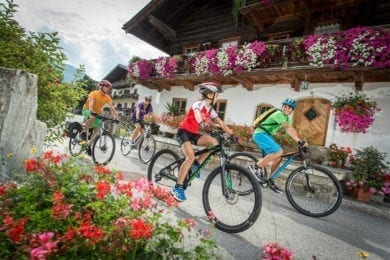 Bike- und Radurlaub im Salzburger Land