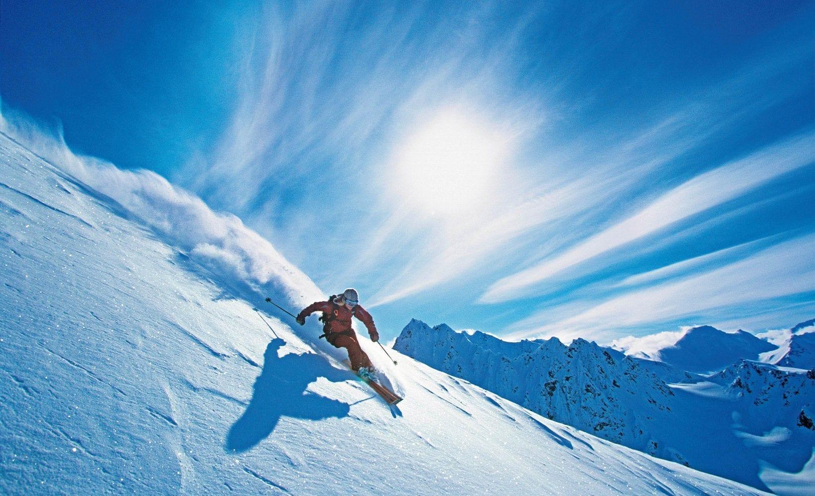 ski-carving