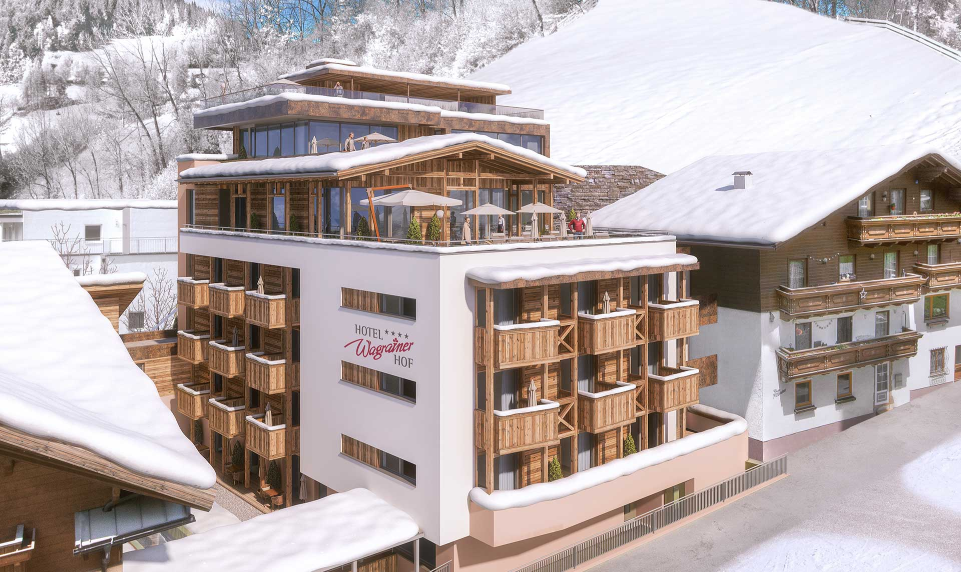 Skihotel in Wagrain, Ski amadé, Salzburg