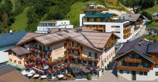 Hotel Wagrainerhof Aussenansicht Zubau