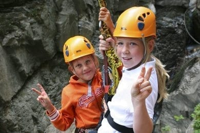 Sommerurlaub in Wagrain - Klettern