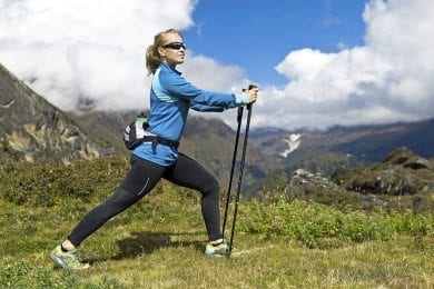 Sommerurlaub in Wagrain - Nordic Walking