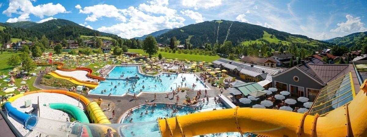 Wasserwelt Wagrain, Sommerurlaub im Salzburger Land
