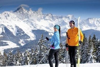 Langlaufen - Winterurlaub in der Salzburger Sportwelt