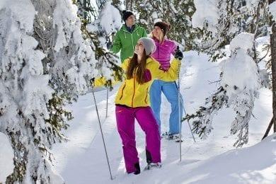 Schneeschuhwandern - Winterurlaub in der Salzburger Sportwelt