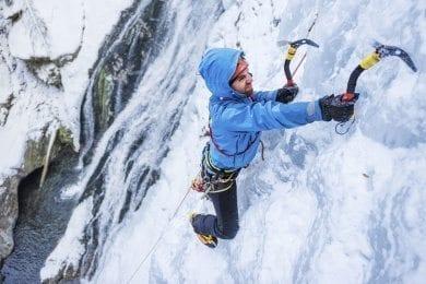 Eisklettern - Winterurlaub in Wagrain
