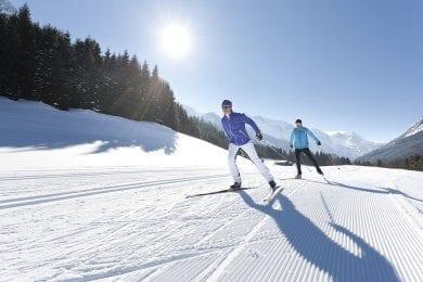 Langlaufen - Winterurlaub in Wagrain