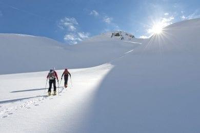 Skitouren - Winterurlaub in Wagrain
